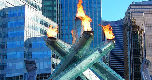 Olympic Torch, Vancouver, Cauldron