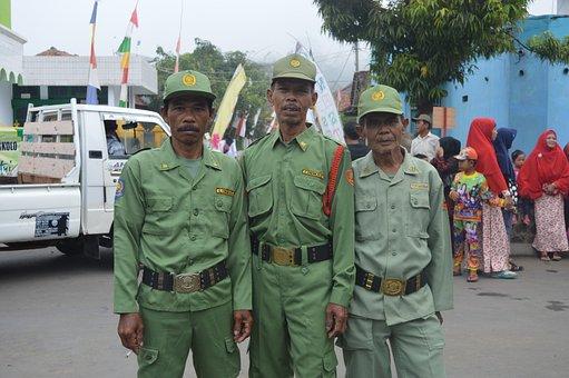 Guards, Civil Defense, Regency Brass