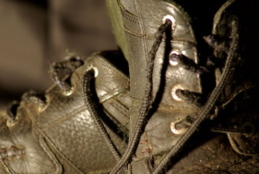 Shoe, Old, Worn, Footwear, Dirty, Pair, Clothing