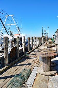 Martha's Vineyard, Menemsha, Dock, Fishing