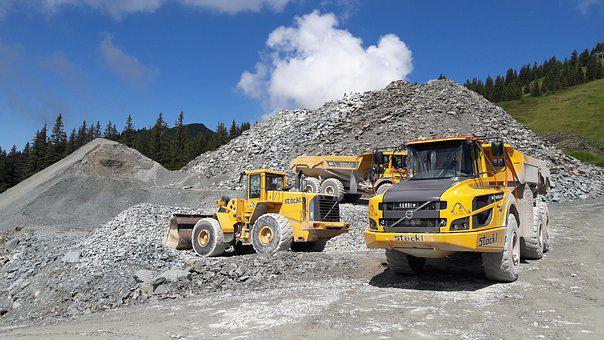 Site, Truck, Dump Truck