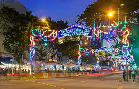 Singapore, Ramadan, Geylang Serai, Festive, Light-up
