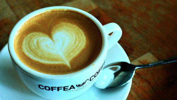 Coffe, Coffee, Cafe, Hot, Brown, Cup, Breakfast, Latte