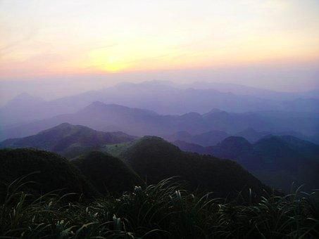 Pinghsi, Sunrise, Mountain