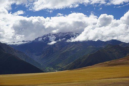 Peru, Mountains, Glaciers