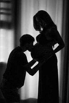 Pregnant Woman, Pregnant, Book Pregnant, Pregnancy