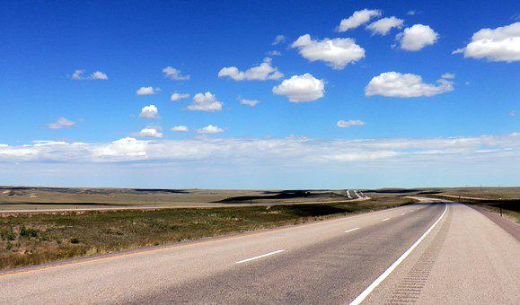 Road, Usa, Highway, Endless