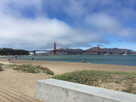 Crissy Field, California, San Francisco, Golden Gate