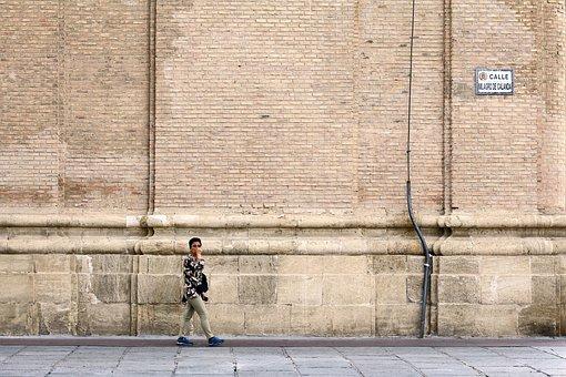 Wall, Brick, Stone, Old, Texture, Background, Worn