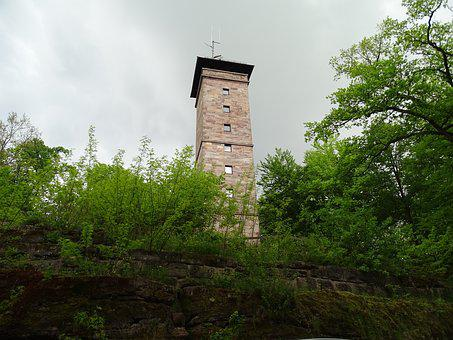 Old, Veste, Zirndorf, Fürth, Tower, Observation Tower