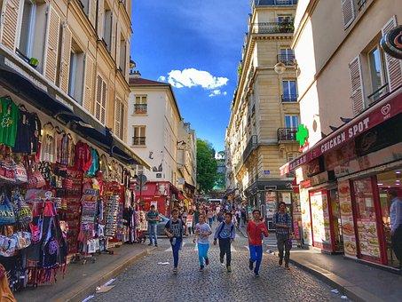 Montmartre, Paris, France, Architecture, Travel, Europe
