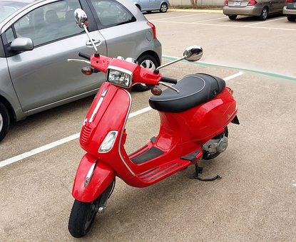 Vespa, Cool, Motorcycle, Scooter, Fun, Urban, City