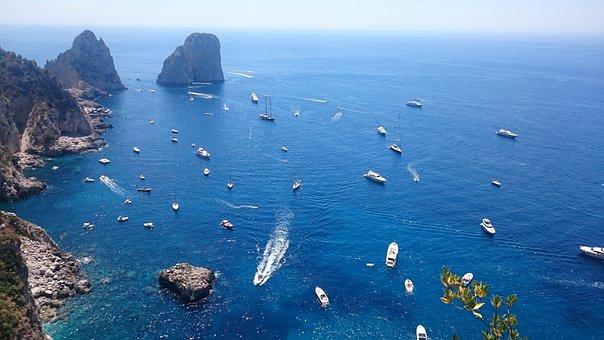 Capri, Faraglioni, Vip