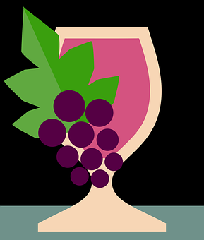 Wine, Grapes, Fruits, Glass, Drink, Alcohol, Thirst