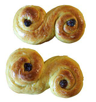 Lussekatter, Saffransbullar, Advent, Pastries