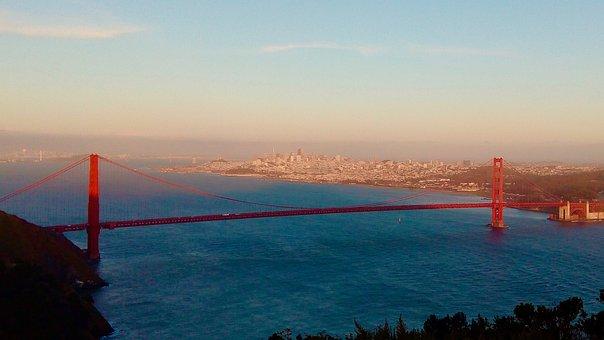 Golden Gate Bridge, Suspension Bridge, Bridge
