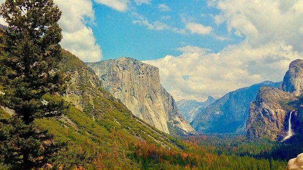 Yosemite National Park, Yosemite, Rock, California, Usa