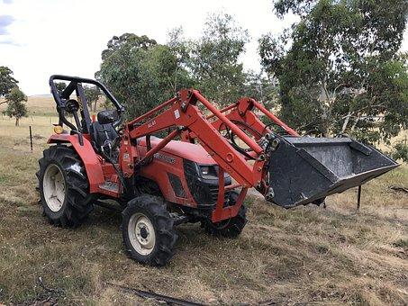 Tractor, Farm, Rural, Field, Farmer, Farming, Equipment