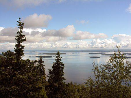 Finland, Koli, Pielinen, Lake, National Landscape