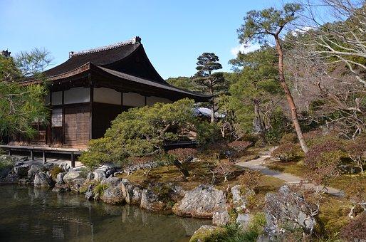 Ginkaku-ji, Temple, Garden, Kyoto, Japan, Buddhist