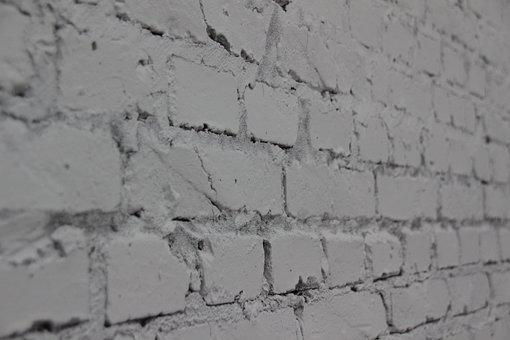 Wall, Brick, Crack, Old, Imperfect, Broken, Sense Year