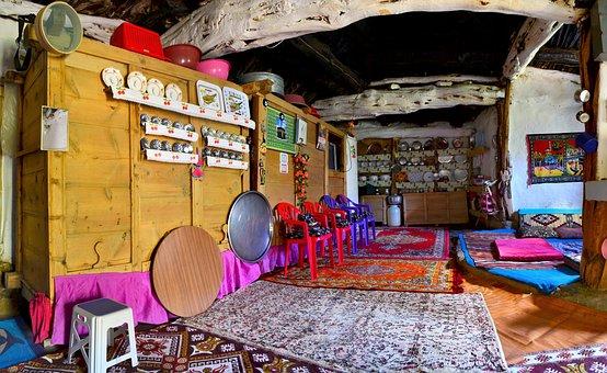 Village, Village House, Old, Home, Turkey, Wood
