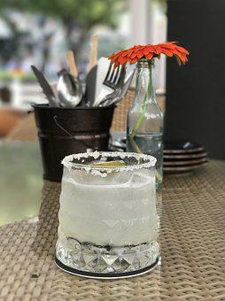 Margarita, Cocktails, Alcohol, Glass, Drink, Bar, Party