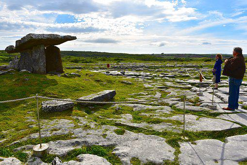Tomb, Portal, Dolmen, Stone, Burial, Burren, Rock