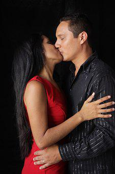 Casal, Marriage, Kiss, Humor, Love, Union, Passion