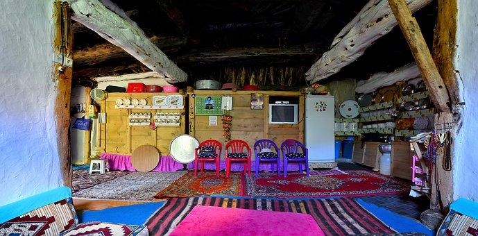 Village, Village House, Old, Home, Turkey, Wood