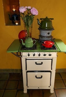 Oven, Stove, Ancient, Old Furnace, Kohleherd, Hot, Heat