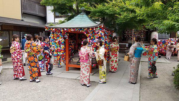 Japanese, Cultural, Women, Japan, Culture, Tradition