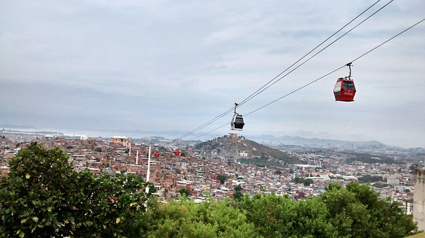 Cable Car, German, Favela, Rio