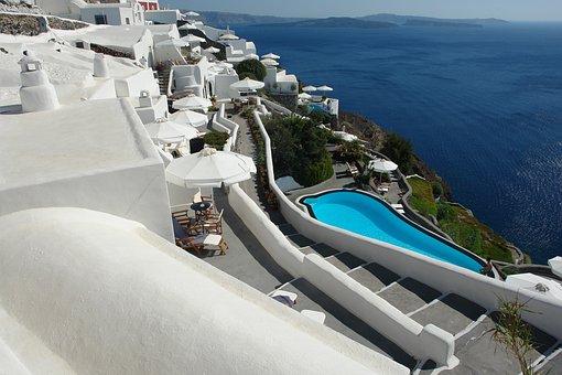 Santorini, Greece, Greek, Travel, Accomodation