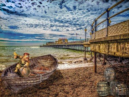 Beach Fantasy, Composite, Worthing Susses, Impression