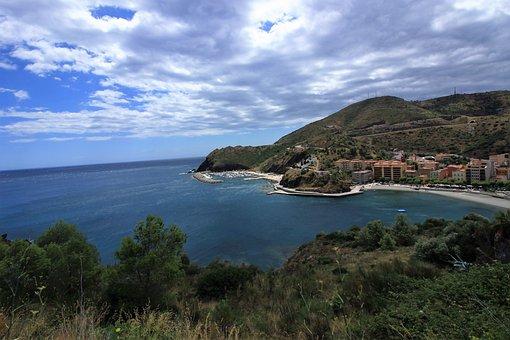 Coast Vermeille, Sea, Mediterranean, Landscape, Spain