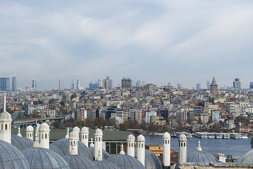 Istanbul, Galata, Turkey, Landscape, Tower, Peace, Date