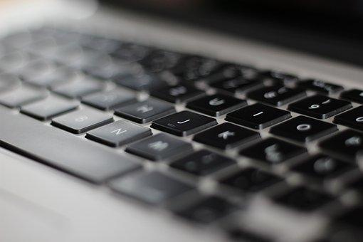 Notebook, Keyboard, Laptop, Keys, Computer Keyboard