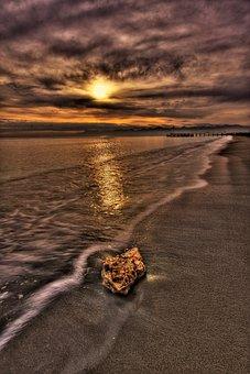 Landscape, Marine, Long Exposure, Hdr, Nature, Beach