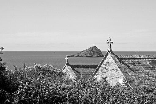 Celtic, Mystical, Crosses, Island Kingdom, Monochrome