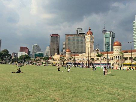 Malaysia, Park, Grassland, 陰, Large F, Casual