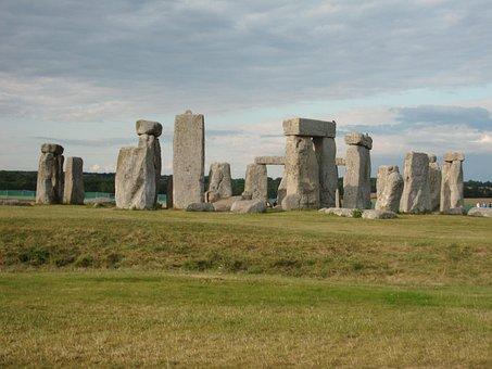 Stones, Megaliths, Stonehenge, England, Megalithic Site