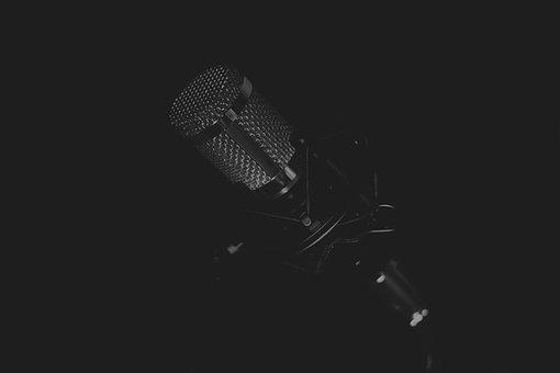 Microphone, Music, Speech, Concert, Studio, Sound, Mic