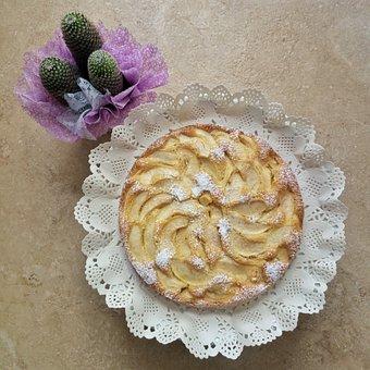 Cake, Apples, American-pie, Sweet, Sugar, Recipes