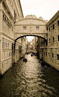 Venice, Italy, Canal, Europe, Tourism, Italian