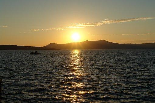 Santorini, Sunset, Greece, Greek, Travel, Island, Sea