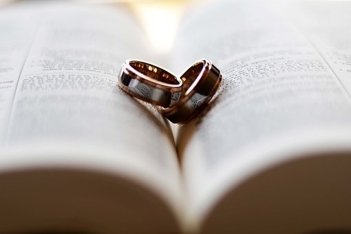 Ring, Wedding, Love, Bible, Wed, Together, One