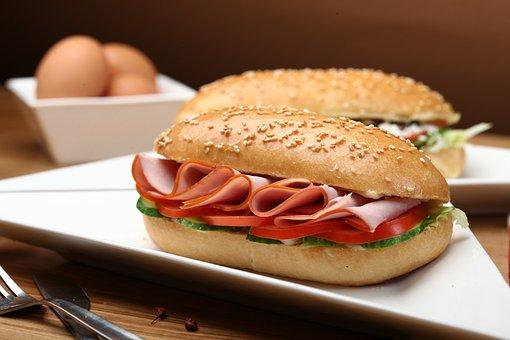 Sandwich, Breakfast, A Sandwich, Cheese, Bread, Snack