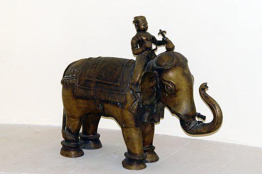 Elephant, Oriental, Indian, Asia, Decoration, Symbol