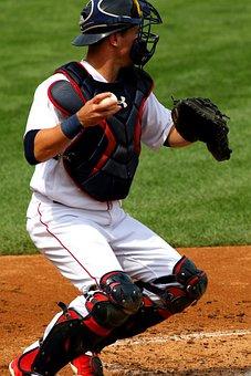 Baseball, Catcher, Player, Ball, Equipment, American